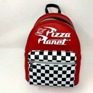 Pixar X loungefly Pizza planet mini backpack